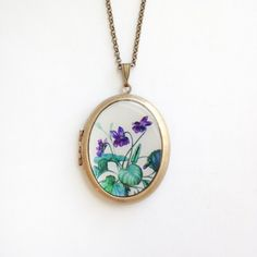 Sweet Violet Locket