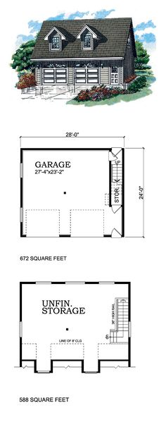 1000 images about two car garage plans on pinterest for 1000 sq ft garage plans