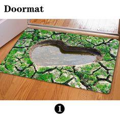 Cool Fashion Anti-slip Floor Funny Doormat Carpet Rug Outdoor Bedroom Kitchen #FORUDESIGNS #RagRug