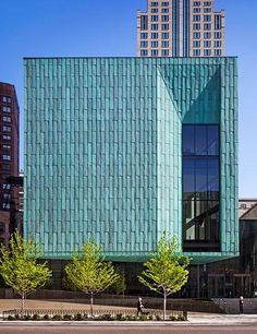 Discover 15 of our favorite copper-clad buildings, including the Genevieve and Wayne Gratz Center, Chicago