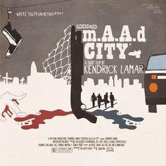 good kid, m.A.A.d city   17 Awesome Pieces Of Unofficial Kendrick Lamar Album Art