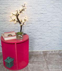 DIY: Mesinha de centro ou lateral para a sala de estar - Casinha Arrumada