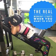 The real workout starts when you want to stop. Isnt that true? .   . El verdadero entrenamiento comienza justo cuando quieres rendirte. No te ha sucedido? - - . . http://ift.tt/1T4hZ2a . fb twitter snapchat pinterest @MaryMirandaFit . http://ift.tt/2aZEWUB