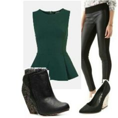 My rock chic combination.Love this