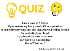 {Latest} Top 10 Whatsapp Puzzles Quiz with answers 2020 Funny Quiz Questions, Trivia Questions And Answers, This Or That Questions, Funny Puzzles, Word Puzzles, Ladies Kitty Party Games, Kitty Games, Whatsapp Fun, Whatsapp Group