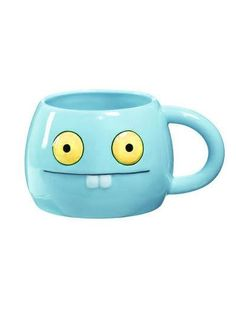 "Babo Ceramic Cup - Holds water and other drinks! (Sold separately) Now you can relive your favorite Uglydoll snack moments with the all new Uglydoll ceramic line!  - Dishwasher Safe - Microwave Safe - Cup Measures: 2-3/4"" H x 5-1/8"" W x 4"" D"