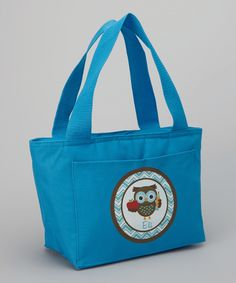 Another great find on #zulily! Blue School Owl Personalized Tote by Preppy Mama #zulilyfinds