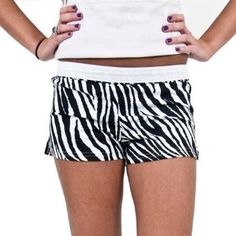 Soffee shorts AND zebra print? yes please :P