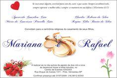 versiculo para convite de casamento - Pesquisa Google