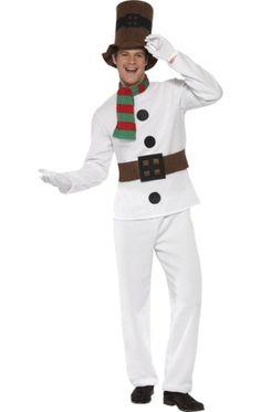 Mr Snowman Costume More