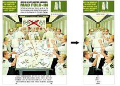 Mad Magazine Folded Back Cover. Genius.