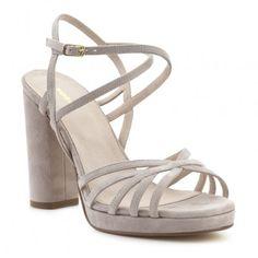 Sandalia tacón piel FOSCO Shoes, Fashion, Shoes Sandals, Fur, Women, Moda, Zapatos, Shoes Outlet, La Mode