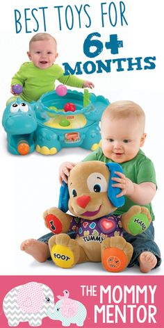 17 Best Toys For Your 6 Month Old Baby Oh Baby