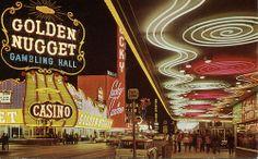 Casino Center on Fremont St., Las Vegas NV