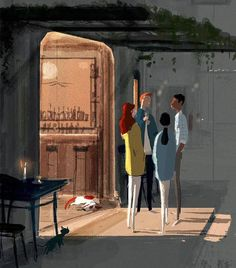 Pascal Campion「Late night topics」 -So..what did you think of it? -It was pretty good -That