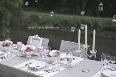 Idées décoration mariage rose et tasse à thé