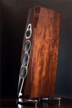 Mono and Stereo High-End Audio Magazine: Tidal Akura ultra exclusive speakers High End Speakers, Big Speakers, High End Hifi, Sound Speaker, High End Audio, Wireless Speakers, Apple Tv, Apple Watch, Audiophile Speakers