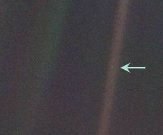 """The famous photograph known as Pale Blue Dot was snapped by Voyager 1 in 1991. In his book entitled Pale Blue Dot, Carl Sagan referred to the image to describe the insignificance of our world in comparison to the cosmos. He said: """"The Earth is a very small stage in a vast cosmic arena. Think of the rivers of blood spilled by all those generals and emperors, so that, in glory and triumph, they could become the momentary masters of a fraction of a dot. Think of the endless cruelties visited by…"""