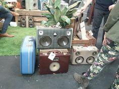 suitcase speakers