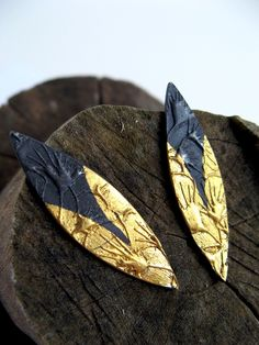 Gold Bloom Post Earrings by Winnie Chai