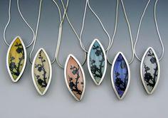 Branch pendants by Stonehouse Studio