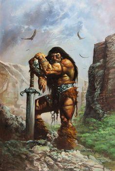 Conan the Savage #1 Cover by Simon Bisley