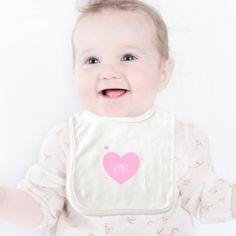 Personalised Sweet Heart Bib