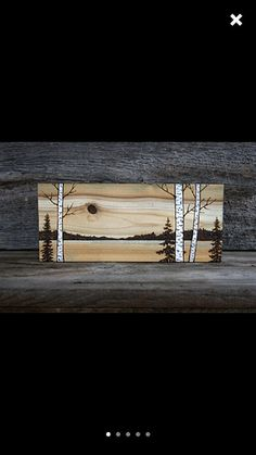 Hi  Does anyone know if it's possible to engrave on painted wood , let's say for example acrylic , like in this picture [image]