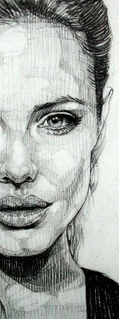 Drawing Portraits - Resultado de imagen de dibujos lapiz grafito paisajes Discover The Secrets Of Drawing Realistic Pencil Portraits.Let Me Show You How You Too Can Draw Realistic Pencil Portraits With My Truly Step-by-Step Guide. Pencil Art Drawings, Realistic Drawings, Drawing Sketches, Pencil Sketching, Portrait Au Crayon, L'art Du Portrait, Drawing Eyes, Painting & Drawing, Art Du Croquis