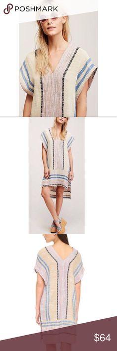 Free People So Easy Pullover Tunic This is in like new condition. Wear over a bikini or pair with your favorite sandals for a nice airy look! Free People Tops Tunics