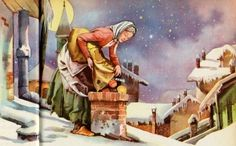 In Italian folklore, Befana is an old woman who delivers gifts to children throughout Italy on Epiphany Eve (the night of January 5) in a similar way to St Nicholas.