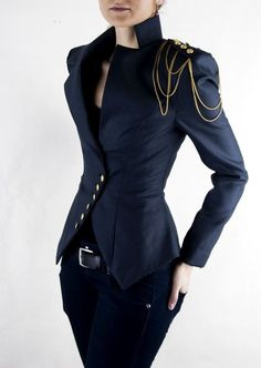 milla jacket - I always want to wear things like this, but I'm never sure I can pull them off...