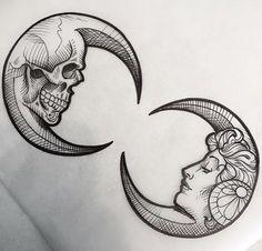A Beautiful Lie And Painful Truth Black Tattoos Bild Motive