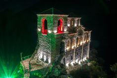 Asen's Fortress and Saint Mary church near Asenovgrad, Bulgaria