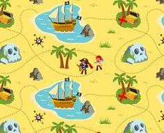 Schatkaart piraten