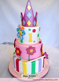 Mazie's princess cake idea
