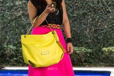 bolso amarillo