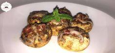 Cogumelos Recheados com queijo, bacon e chouriço | Perdido na Cozinha - Perdido na Cozinha