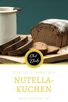 Dieser tolle Nutellakuchen schmeckt herrlich süß und schokoladig nach der leckeren Creme. Probier ihn direkt selbst aus, er ist ganz schnell und einfach nachgemacht!
