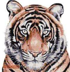 Dignity White Tigers Cross Stitch Cross Stitch Other Inspiring Finds Pinterest Stitches