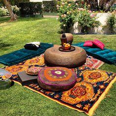 Moroccan touches at H #HMlovesmusic #HMCoachella party at #Coachella