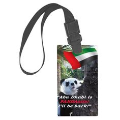 Custom PANDA Luggage Tag from Abu Dhabi. Emirates, UAE, Sheikh, fashion, travel, souvenir, Panda holiday, gift, love, great, fashion, travel, souvenir, present, novelty, World, apparel, OMG, BFF, humor, gag, cool, tablet, Google, shower curtain, sexy, picture, wall, Christmas, birthday, Valentine's day, poster, Easter, Halloween, music, Pin, Pinterest,