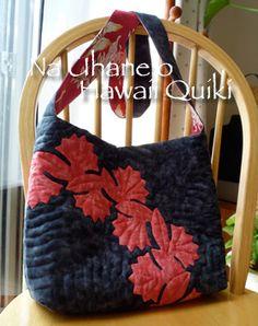 Hawaiian Quilted Bag