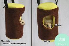 SGA Sugar Glider Cute Cage Pouch Bed Brown Trunk also for Mouse Squirrel Hamster Sugar Glider Academy http://www.amazon.com/dp/B01E2RZE02/ref=cm_sw_r_pi_dp_CW-exb03TNGZW