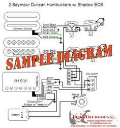 Custom Guitar Wiring Diagram THREE PICKUPS