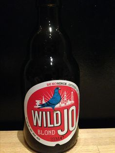 WildJo - blond. 330ml, 5,8%. De Koninck www.dekoninck.com