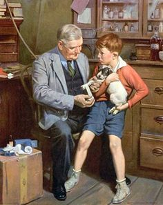 Harold N. Anderson (1894 – 1973, American)   I AM A CHILD