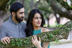 Beautiful engagement session at Rice University in Houston, Texas.