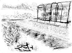 Snow, Outdoor, Gardens, Vegetable Gardening, Drawings, Outdoors, Outdoor Living, Garden, Eyes