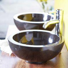 Waschbecken aus Marmor Bahya 35cm